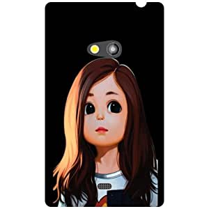 Printland Big Eyes Phone Cover For Nokia Lumia 625