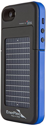 GoEnerplex Handyhülle kompatibel mit iPhone 5, Energy Pack Surfr Akku-/Solarhülle blau, SFI-2000-BL -