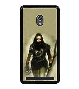 ifasho Designer Phone Back Case Cover Asus Zenfone 5 A501CG ( Elephant Face ElePhant Eye Ganesh Avatar )