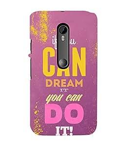 FUSON Dream It Do It 3D Hard Polycarbonate Designer Back Case Cover for Motorola Moto G Turbo Edition :: Virat FanBox Moto G Turbo Virat Kohli