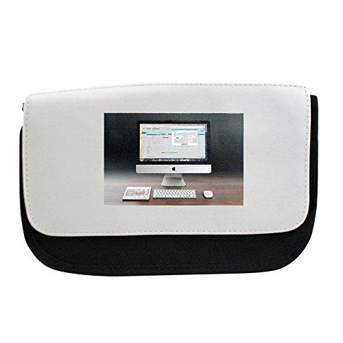 Preisvergleich Produktbild Pencil case with Apple, Imac, Ipad, Workplace, Freelancer