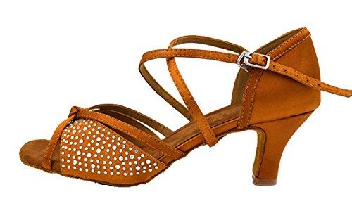 TDA - Ballroom donna 6cm Brown