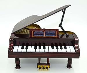 Doll House piano échelle 1/6 Bryce meubles de maison miniature rouge brun