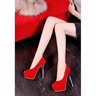 Appartamenti Donna Primavera Estate Autunno Inverno Comfort novità PU sintetico similpelle Wedding & Party Ufficio Carriera & Evening Red