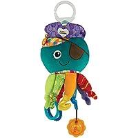 """Lamaze Baby Spielzeug """"Captain Calamari, die Piratenkrake"""" Clip & Go - hochwertiges Kleinkindspielzeug - Greifling Anhänger zur Stärkung der Eltern-Kind-Bindung - ab 0 Monate"""
