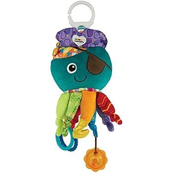Lamaze Captain Calamari Clip On Pram and Pushchair Baby Toy