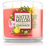Bath and Body Works 14.5 Oz 3 Wick Candle Watermelon Lemonade