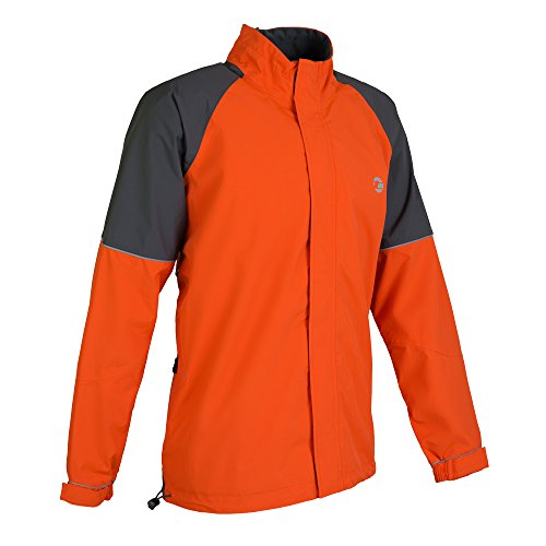Tenn Mens Vision Jacket - Orange/Grey - 3XL