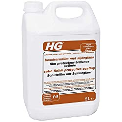 HG Protective Coating Satin Gloss Finish 5L - a satin polish which leaves a protective coating for all floor tiles, flagstones and slate