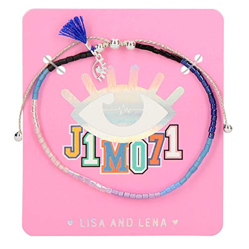 Depesche Pulsera de Perlas 10523 Lisa y Lena J1MO71, Aprox. 16 cm