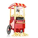 Gadgy Popcorn Machine | Retro Palomitero Pop Corn Maker | Aire...