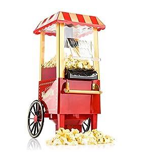 retro: Gadgy Popcorn Machine   Retro Palomitero Pop Corn Maker   Aire Caliente Sin Gras...