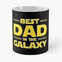 Star Wars Starwars Trek Dad Father Dads Fathers Day Husband Birthday Idea - Best 11 Ounce Cerámica Coffee Mug Gift