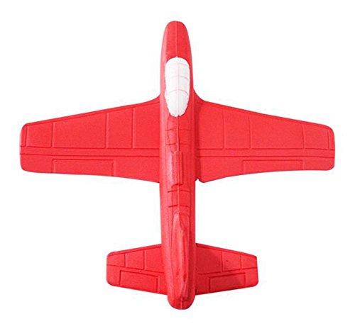 (Kind werfen Flugzeug Spielzeug Modell Outdoor Eltern-Kind Sport Toys-Red)