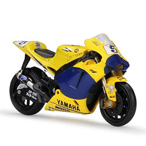 GAOQUN-TOY Motocicleta Modelo 1:18 Escala Motocicleta Yamaha M1 Moto G