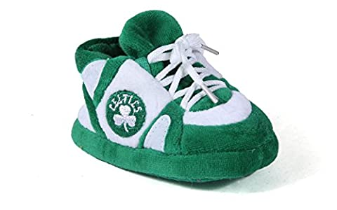 Comfy Feet - BCE03PR - Boston Celtics Baby Slipper - Newborn to 9 Month