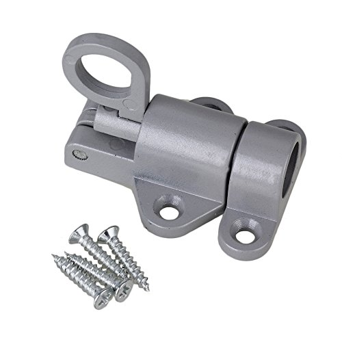 mxfans Spring Loaded Aluminium Legierung Sicherheit Barrel Bolt Verriegelung automatisch Verriegelung 58mm -