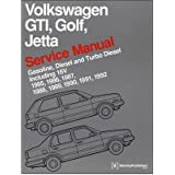 (VOLKSWAGEN GTI, GOLF, AND JETTA SERVICE MANUAL: 1985, 1986, 1987, 1988, 1989, 1990, 1991, 1992: GASOLINE, DIESEL AND TURBO DIESEL, INCLUDING 16V) BY Bentley Publishers(Author)Hardcover on (10 , 2010)