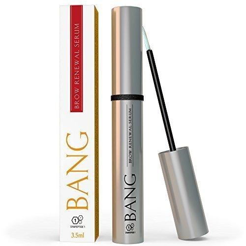 Bang - Sérum de croissance pour sourcils plus épais en 2-4 semaines - Avec peptides, huile d'argan et huile de Ricin – Conçu par les experts en croissance des cheveux de Nourish Beaute