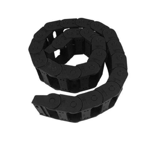 Machine 1,08 m en plastique Noir 25 x 57 mm Towline chaîne câble de frein