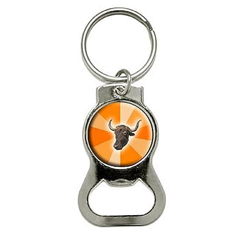 Yak in Orange Burst-Gutachten Tier