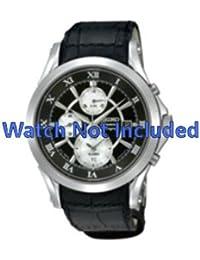 Correa de reloj Seiko/7t62 0jw0 SNAD29P1 (no incluidos en el precio del reloj. Correa de reloj original solamente)