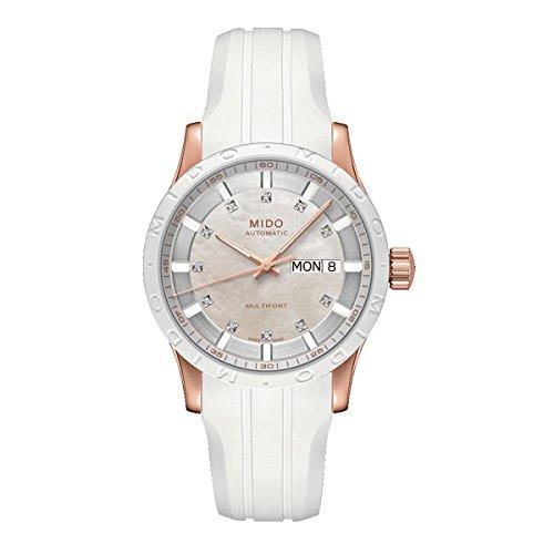 Mido Damen-Armbanduhr Multifort Analog Automatik Silikon M0188303711600