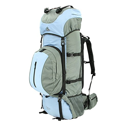 10T Outdoor Equipment Northcote 85+15 Saco Marinero, 95 cm, 100 Liters, Azul (Blau/Grau)