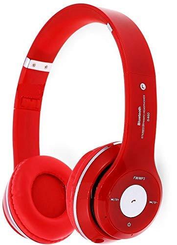 s460 écouteurs sans fil bluetooth 3.0 stéréo écouteurs oreillette pour téléphone mobile (or)