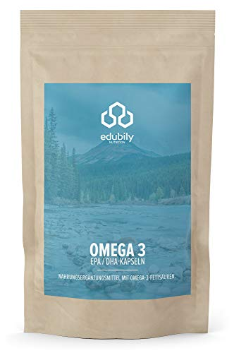 Omega 3 Fischölkapseln aus Wildfang in pharmazeutischer Qualität, natürliche Triglyceride 70% hochkonzentriert, EPA & DHA Kapseln, auf Schwermetalle untersucht (90 Kapseln)