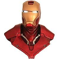 Qiyun- Casco Iron Man (Tamaño de Vida) 1:1 Estatua Grande de