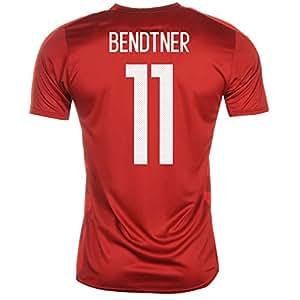 afbab5baf6d UKSoccershop 2016-2017 Denmark Home Shirt (Bendtner 11) - Kids ...