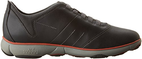 Geox U Nebula F, Baskets Basses Homme Grau (ANTHRACITEC9004)