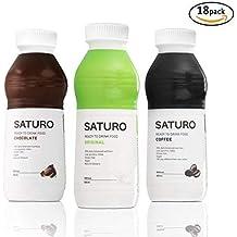 Batido Sustitutivo Saturo - Kit de Degustación (Chocolate, Original, Café)| Comida