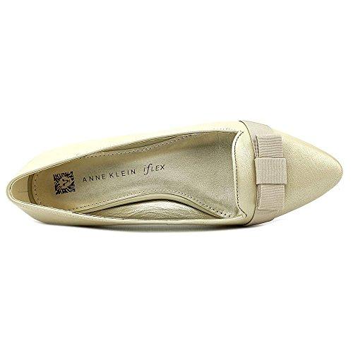 Anne Klein Kyrena Femmes Cuir Chaussure Plate LTN-LTN