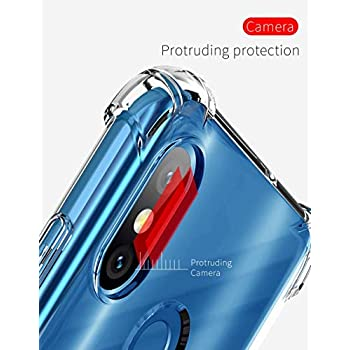 YOFO Rubber Back Cover for SAMSUNG M20 - Transparent