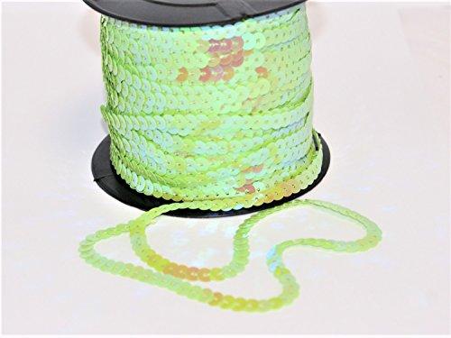 Bauchtanz Verkauf Für Kostüm - Pailettenband, Grün - Holo 5 m S45