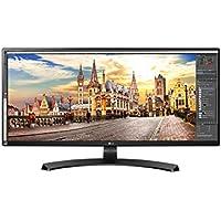LG 34UM68 34 inch Ultrawide Height Adjustable IPS Monitor (2560 x 1080, HDMI, DisplayPort, 300 cd/m2, 5ms, AMD Freesync)