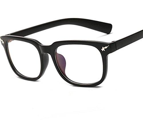 XXFFH Sonnenbrille Plain Brille Rahmen Große Frame Brille Männer Frauen Flache Spiegel , C Männer Versace Brillen Frames