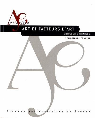 Artetfacteursd'art : Ontologiesfriables