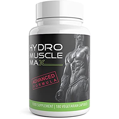 Hydro Muscle Max 180 Testosterone Boosters for Men HGH XL Ultra Testo Tribulus Extreme Male Performance Enhancer Testosterone Supplements by Natural Answers by Natural Answers