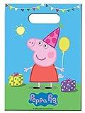 generique 8 Sacchetti per caramelle Peppa Pig