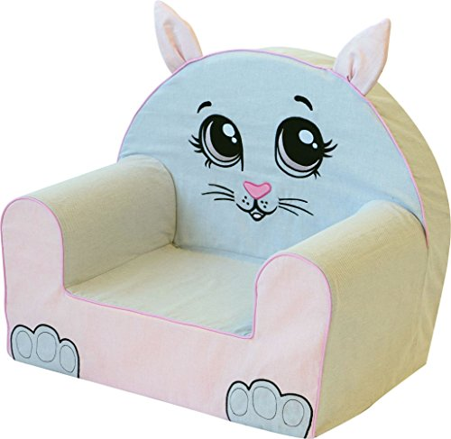 Bubaba - Kindersessel in 16 Motiven, EU Produkt, formstabiler Schaumsoff - extra leicht nur 1kg, Model:Sweet Kitty