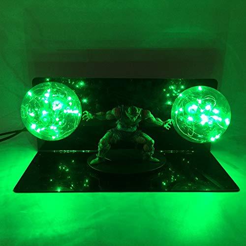Festival Ausrüstung, Hauptdekoration,Dragon Ball Bick Big Devil Hand Kreative Tischlampe LED Eye Light, Grün (Ist Devil Geburtstag Halloween-die S)