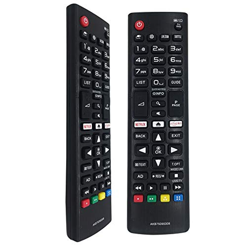 Control Remoto Universal AKB75095308 para LG TV 43UJ6309 49UJ6309 60UJ6309 65UJ6309 Control Remoto Inteligente
