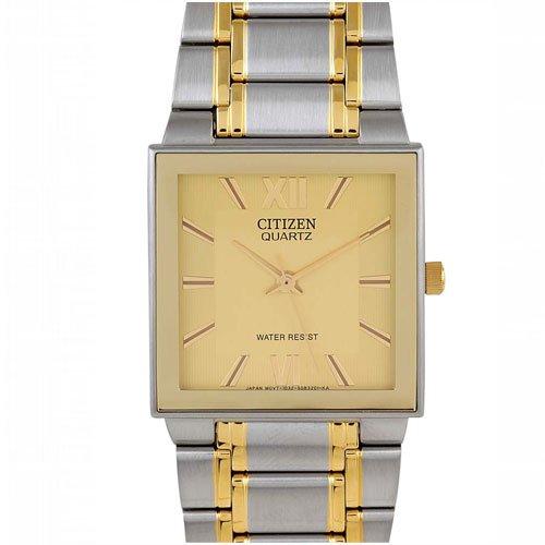 Citizen Analog Gold Dial Men's Watch - BA5380-69P image