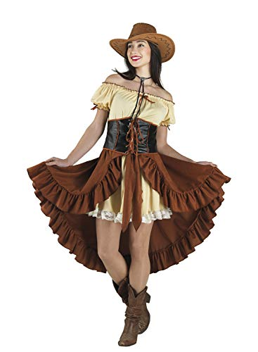 chiber Kostüm für Mädchen Saloon Western