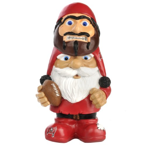 Tampa Bay Buccaneers Mad Hatter Gnome (Gras Sonnenbrille Mardi)