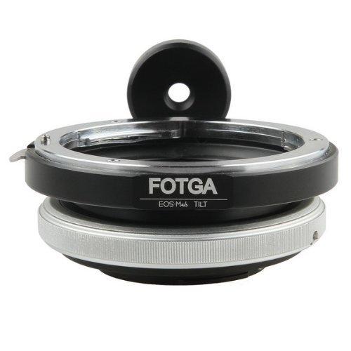 FOTGA Tilt Adapter für Canon EOS Objektiv zu Micro 4/3 M43 Kamera GH2 GF2 E-P3 E-PL3 Tilt-adapter