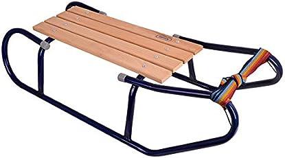Holzschlitten Schlitten Sportschlitter für Kinder Winter Schnee Wintersport